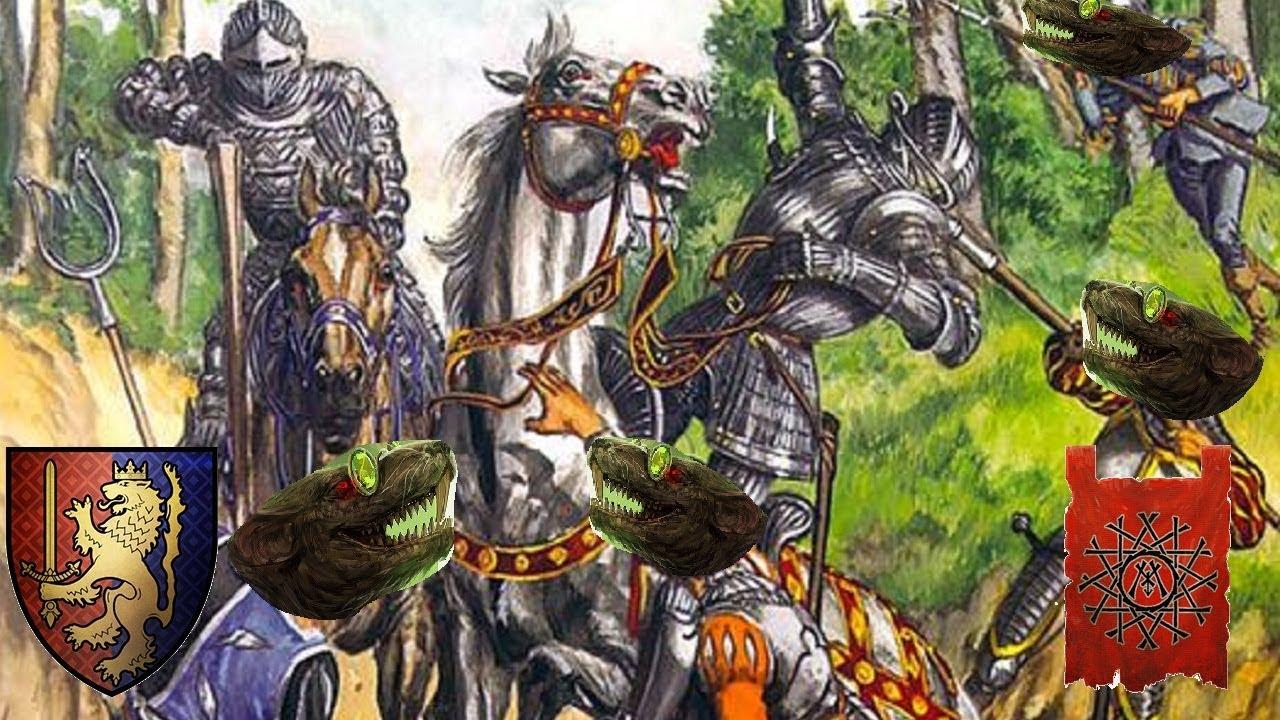 KNIGHT THE LIGHTNING  | Bretonnia vs Skaven - Total War Warhammer 2