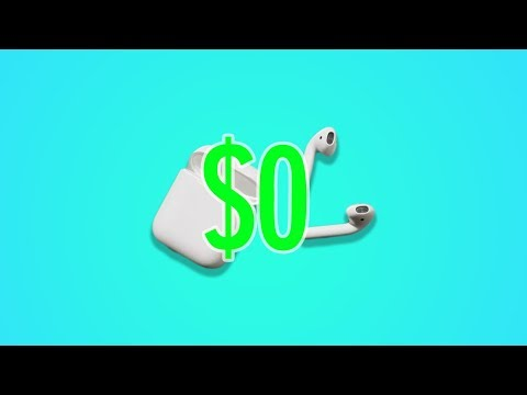 How To Make AIRPODS For FREE! (Life Hack)