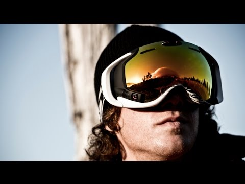 The First Reality Augmented Ski Goggles Used for Snow Sports