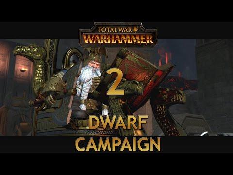 Let's Play TOTAL WAR WARHAMMER [Dwarf Campaign] Episode 2: Taking Back Dwarven Settlements