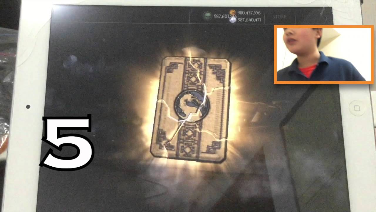 MKX iOS `NEW: 1 7 Challenge Pack` HUGE Opening!-- We Got Them ALL + Over  5000 Souls Spent!