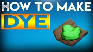 ARK Survival How to make dye!