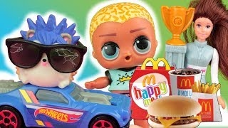 Happy Meal & LOL Surprise  Zabawki Barbie i Hot Wheels  McDonalds 2019