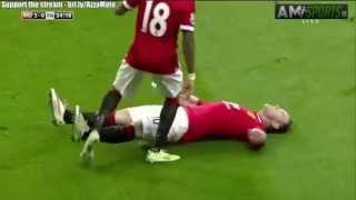Wayne Rooney Knock Out Celebration