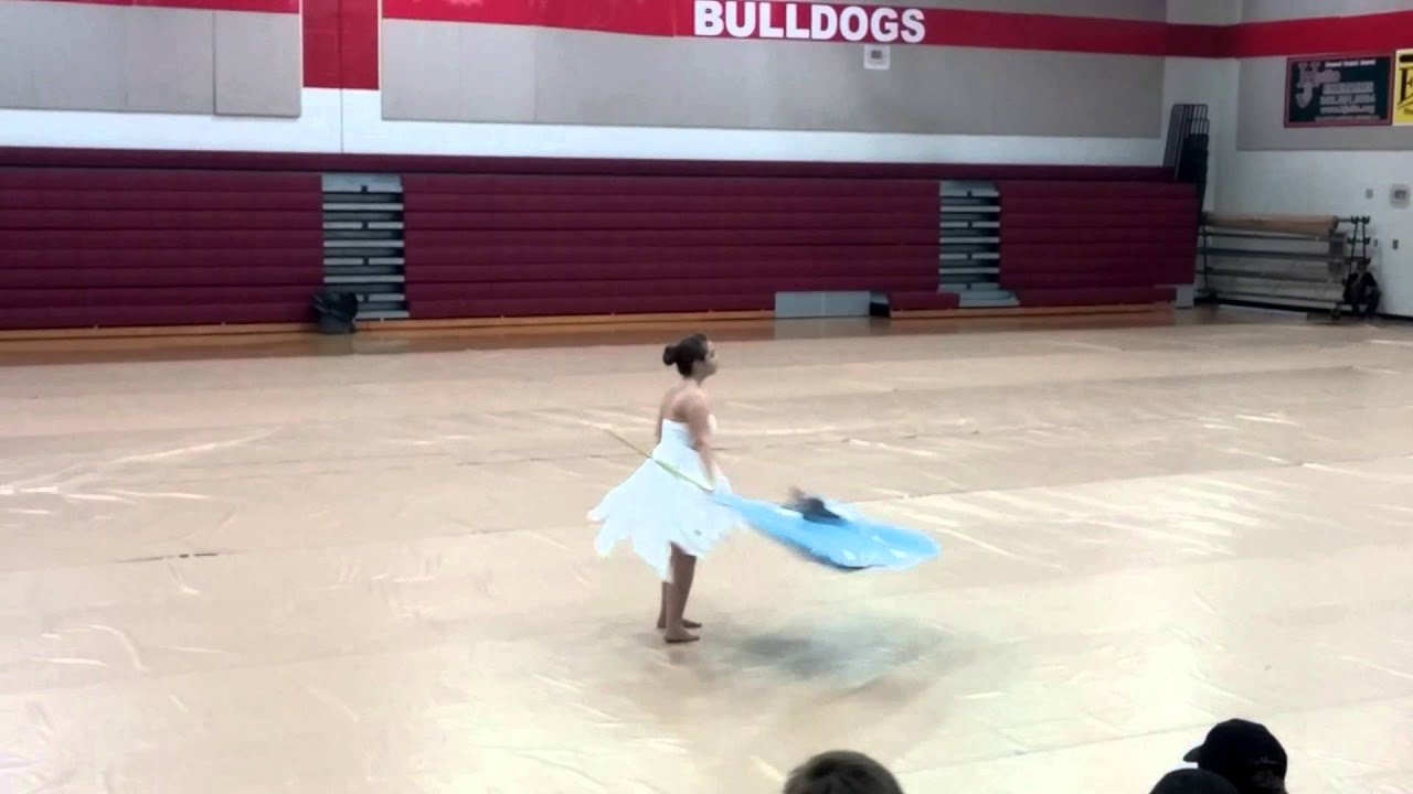Disenchanted My Chemical Romance Colorguard Solo