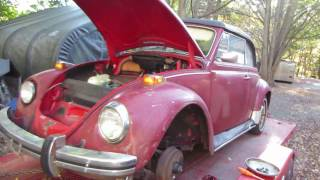 better look at the barn find vw bug