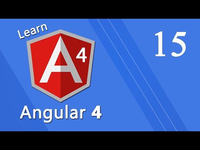 Angular 4 Tutorial - Animations #15
