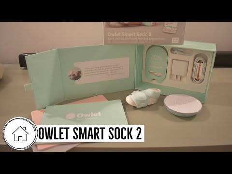 Unboxing of Owlet Smart Sock 2 Baby Monitor