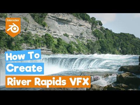 Blender 2.8 Tutorial: River Rapids [VFX]