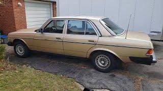 1984 Mercedes Benz 300D In Burlington Ontario   GetInspected 0534