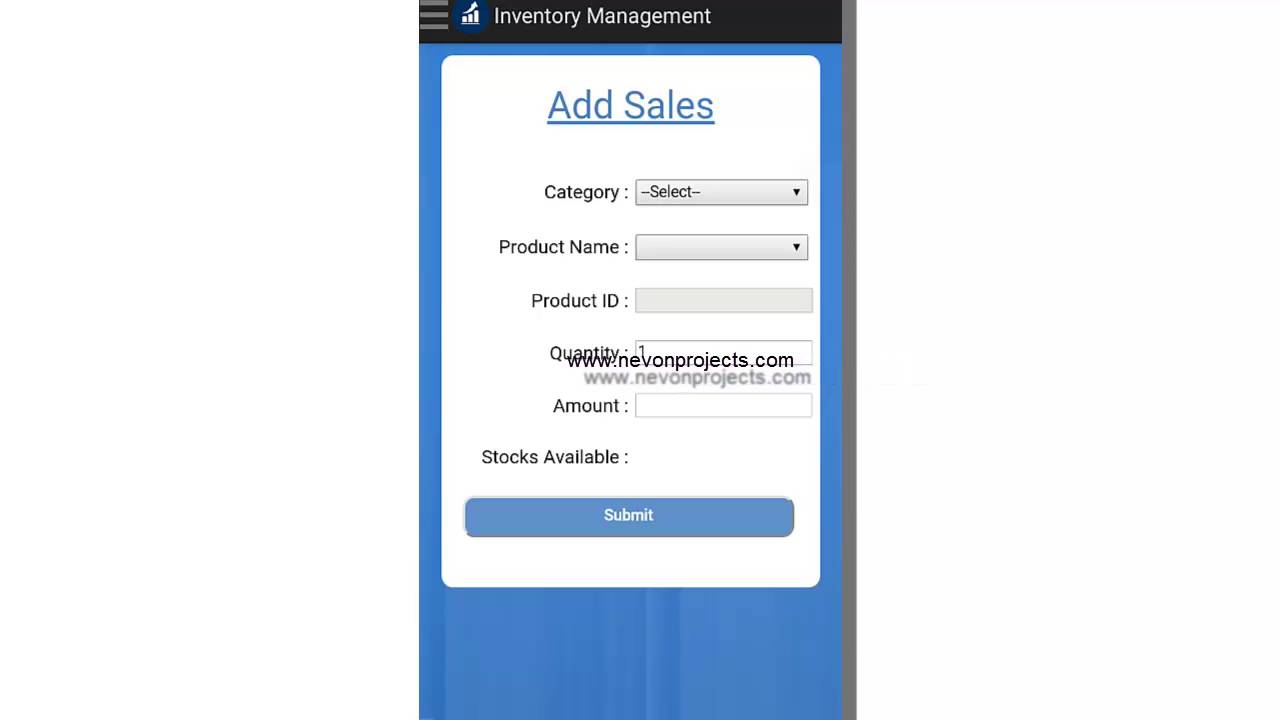 android inventory tracker with sales prediction youtube