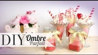 DIY Ombre Ice Cream Sundae Candles - ANNEORSHINE