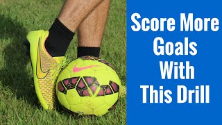 Soccer training drills | great shooting drill for youth players