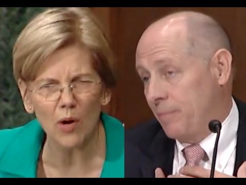 Elizabeth Warren HUMILIATES Bank CEO for Taking a Taxpayer Bailout While Pushing Deregulation
