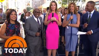 Happy Birthday, Hoda! TODAY Team And 'Pretty Woman' Cast Celebrate On The Plaza | TODAY