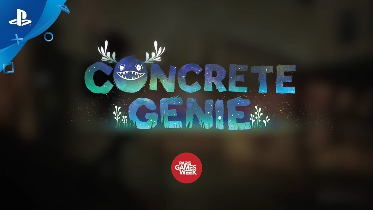 Concrete Genie - Paris Games Week Mural | PS4