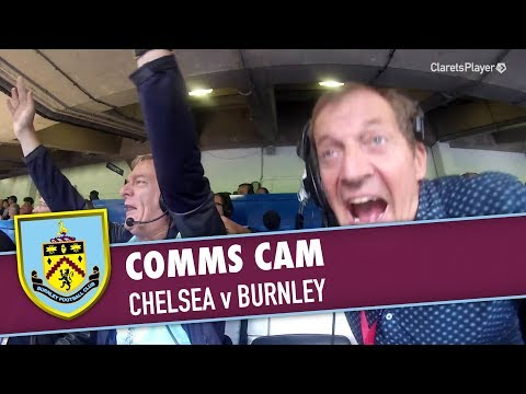 COMMS CAM | Chelsea v Burnley