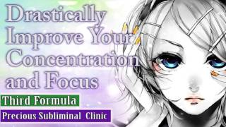 Improve Focus And Concentration - 3rd Formula [Affirmation Frequency] - INSTANT RESULTS