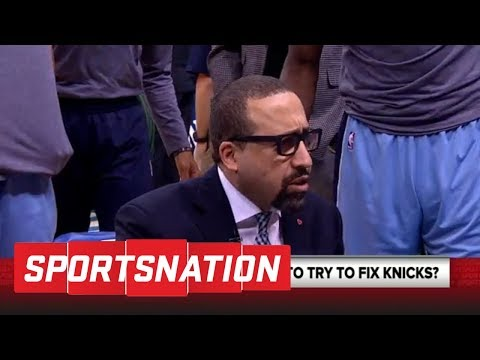 Marcellus Wiley: David Fizdale is in a 'no-lose situation' with the Knicks | SportsNation | ESPN