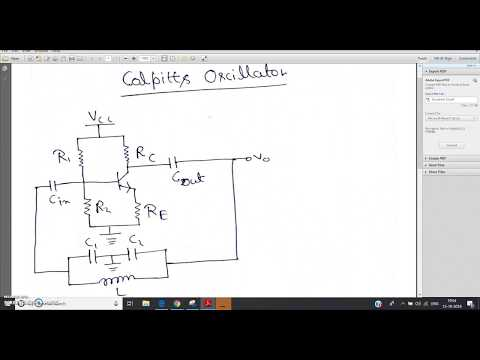 Colpitts Oscillators