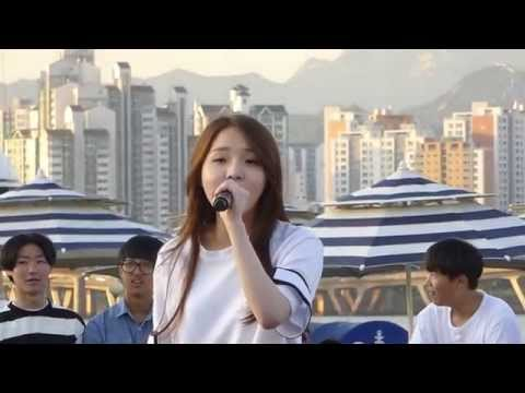 240515 #2 Yujin (The Ark 디아크) solo - Don't Think You're Alone - Yeouido Hangang Park 버스킹