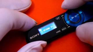 [SONY NWZ-B152F] Slim & Small MP3 Player