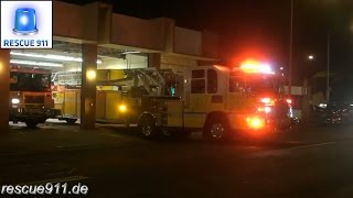 [Hawaii] Ladder 2 + Engine 2 Honolulu Fire Department