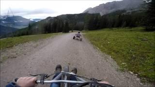 Mountain Carts Biberwier Marienbergbahn Tirol Oostenrijk 26 juli 2107