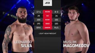 АСА 120: Леонардо Силва Оливейра vs. Муслим Магомедов | Leonardo Silva Oliveira vs. Muslim Magomedov
