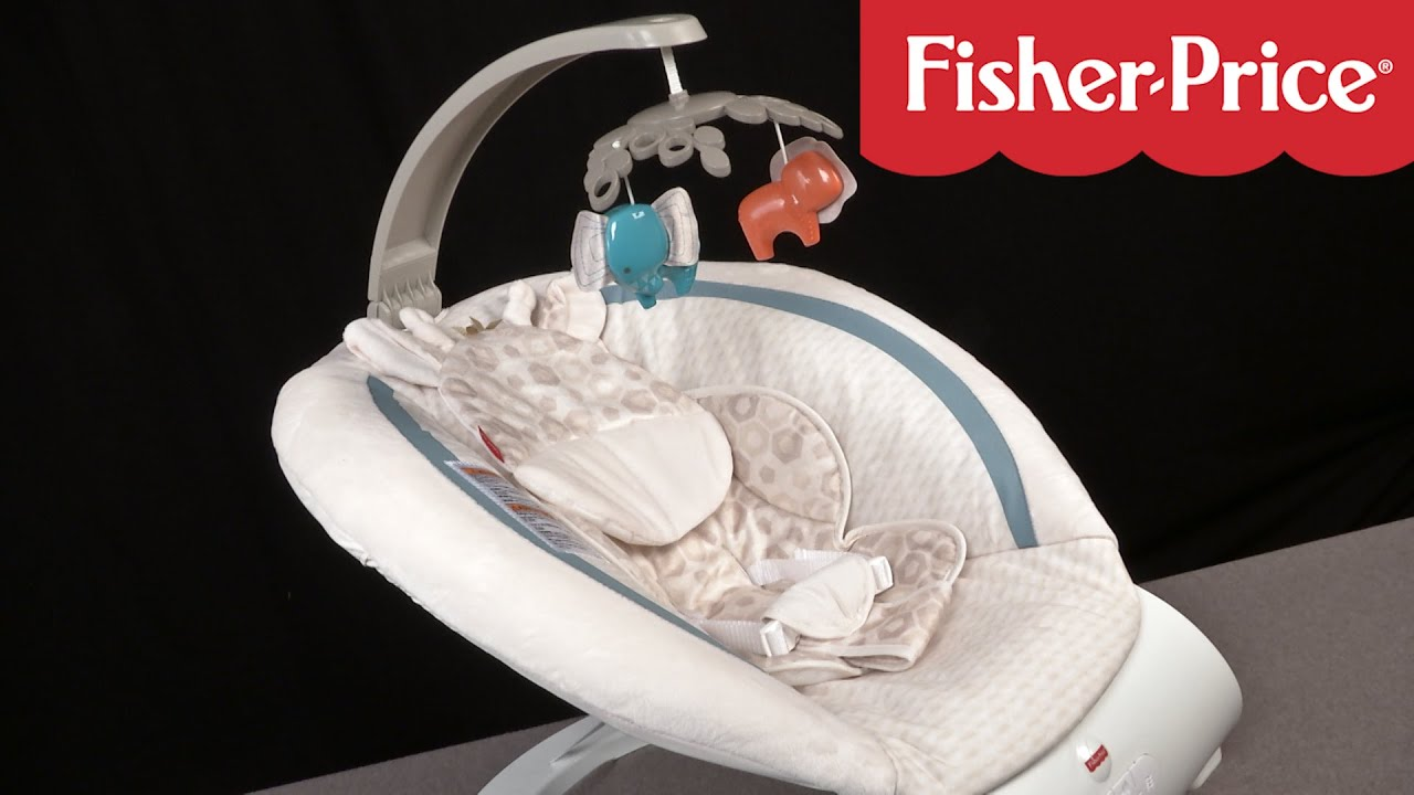 Soothing Savanna Deluxe Bouncer From Fisher Price Youtube