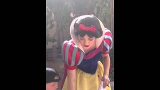 Jacob kissing Snow White