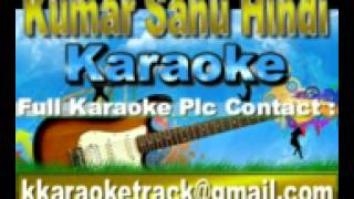 Aa Jana Tere Bin Lage Karaoke Bol Radha Bol {1992} Alka,Kumar Sanu