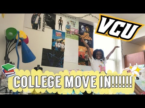 COLLEGE MOVE IN DAY 2018!!!! FRESHMAN AT VCU!!