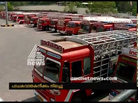 Truck driver's Strike at Parippally IOC plant