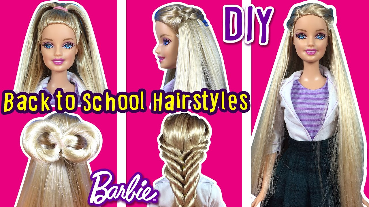 school hairstyles of barbie