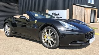 For sale - 2010 Ferrari California - Nero Daytona - Nick Whale Sports Cars