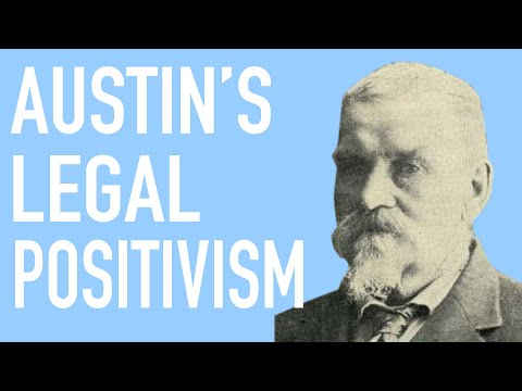 John Austin's Command Theory of Law and Legal Positivism