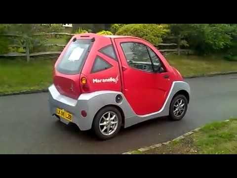 Effedi Maranello 4 Cycle Sce Electric Car Pev Personal Vehicle