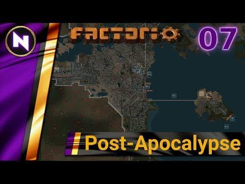 Factorio Post Apocalypse #07 ENEMY AT THE GATES