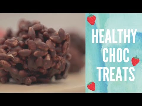 Healthier Chocolate Rice Crispy Cakes