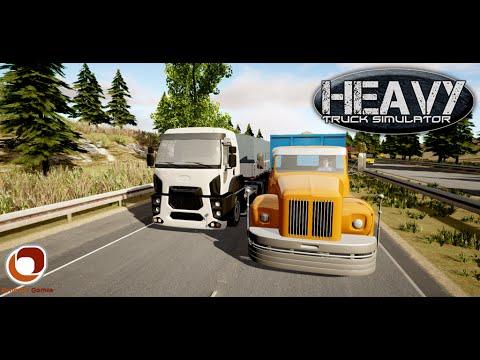 Heavy Truck Simulator - Gameplay (Android/iOS)