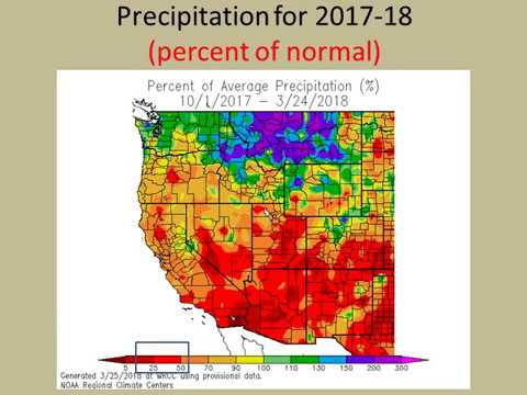 Climate Update For Socal 2017-18 Water Year - NWS San Diego