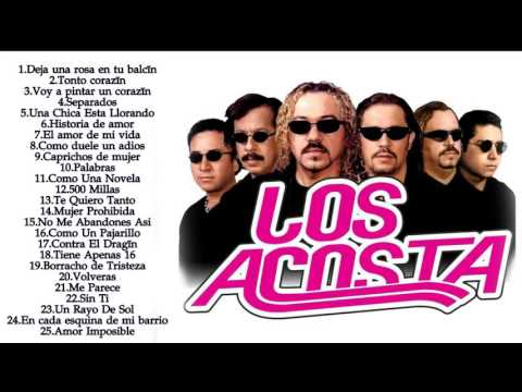 Los Acosta Sus Mejores Exitos - Mix 2016 - Las Mejores Canciones De Los Acosta