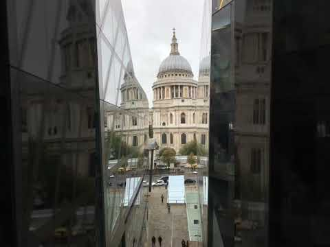 St. Paul's Cathedral View from Rooftop