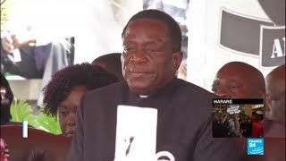 Qui est Emmerson Mnangagwa, le successeur annoncé de Mugabe ?