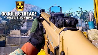 DROPPING NUKE WITH 0.01 SECONDS REMAINING!!! (Modern Warfare Multiplayer)