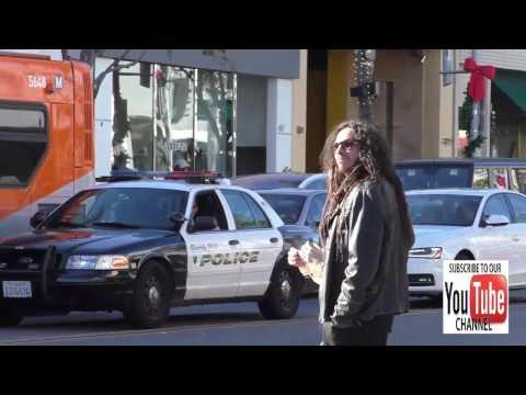 James Shaffer aka Munky from KORN shopping in Beverly Hills