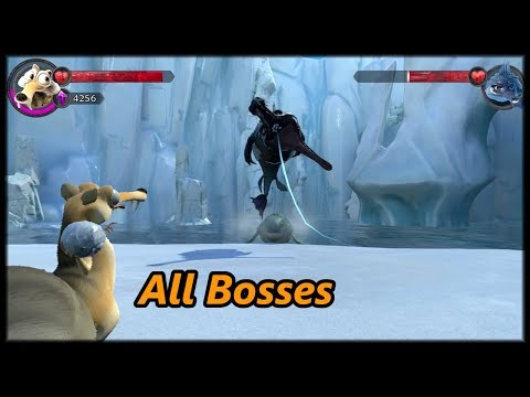 Ice Age Scrat's Nutty Adventure - All Bosses & Ending