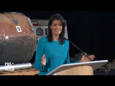 WATCH: US Amb. to UN Nikki Haley discusses Iran nuclear deal