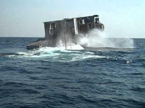 USS Arthur W Radford Sinking